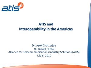 ATIS and Interoperability in the Americas