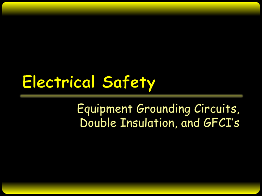 Ground In Circuits