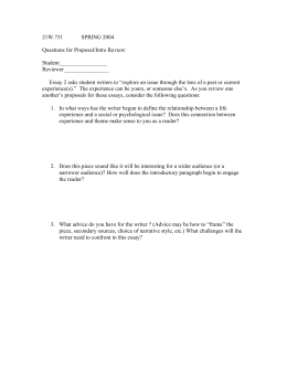 Peer review format 21w731 spring 2004 questions for proposalintro review student maxwellsz