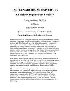 EASTERN MICHIGAN UNIVERSITY Chemistry Department Seminar Friday November 21, 2014 2:00 p.m.