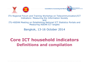 ITU Regional Forum and Training Workshop on Telecommunication/ICT