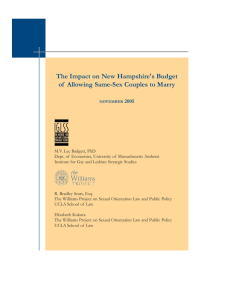 The Impact on New Hampshire's Budget 2005
