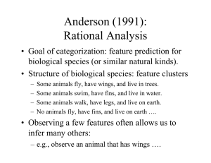 Anderson (1991): Rational Analysis