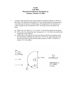 10.302 Fall 2004 Discussion Problem for Recitation on Tuesday, October 19, 2004