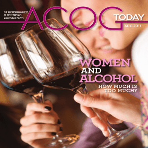 WOMEN ALCOHOL AND HOW MUCH IS