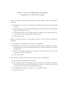 24.251 – Intro to the Philosophy of Language
