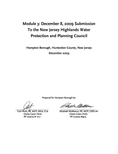 Module 3: December 8, 2009 Submission Protection and Planning Council