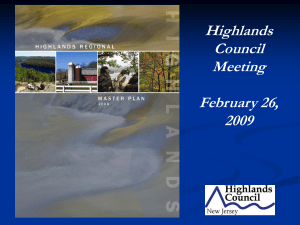 Highlands Council Meeting February 26,