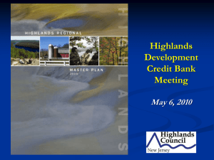 Highlands Development Credit Bank Meeting