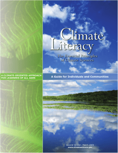 C L limate iteracy