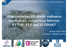 High resolution IR cloudy radiances simulations: comparison between RTTOV-11.3 and VLIDORT