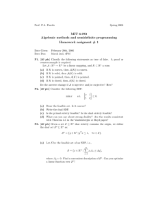 MIT  6.972 Homework  assigment  #  1