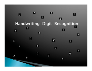 Handwriting  Digit  Recognition 1