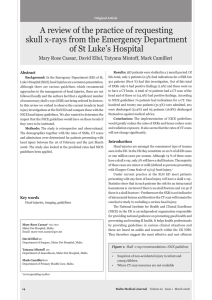 A review of the practice of requesting of St Luke's Hospital