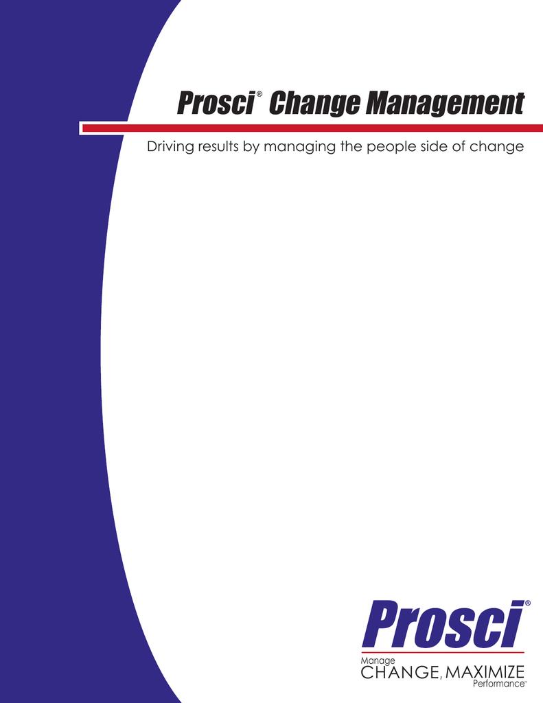 Change management prosci maximize change 1betcityfo Images