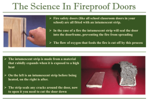 The Science In Fireproof Doors