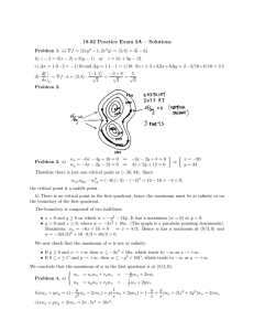 A 18.02  Practice  Exam  2 – Solutions