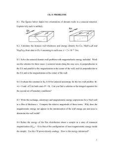 Ch. 8  PROBLEMS Explain why each is unlikely.
