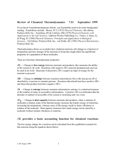 Review of Chemical Thermodynamics 7.51   September 1999