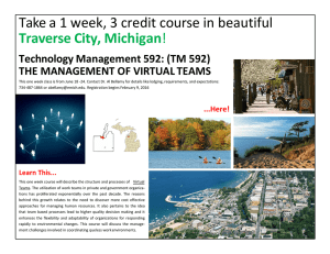 Take a 1 week, 3 credit course in beautiful