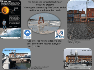 The Tampa and Sarasota Bay Estuary Programs present: King Tide