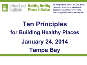 Ten Principles  January 24, 2014 Tampa Bay