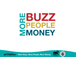 BUZZ MONEY MORE PEOPLE