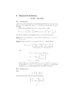 5 Homework Solutions 18.335 - Fall 2004 5.1
