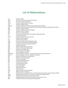 List of abbreviations