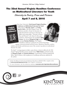 Diversity in Poetry, Prose and Pictures on Multicultural Literature for Youth