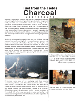 Charcoal Fuel from the Fields