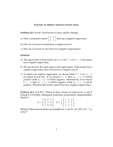 (6.4 #7. Introduction to Linear Algebra: Strang) � 1  b