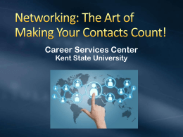 Career Services Center Kent State University
