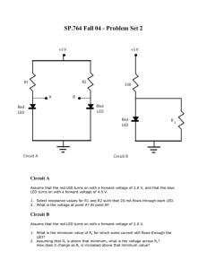 SP.764 Fall 04 - Problem Set 2 Circuit A