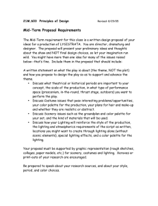 Mid-Term Proposal Requirements