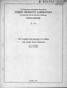 3 . 22422 0 FOREST PRODUCTS LA