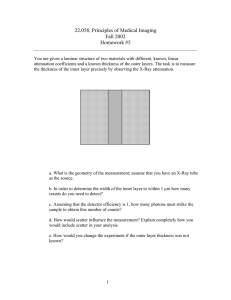 22.058, Principles of Medical Imaging Fall 2002 Homework #5