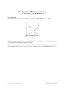 2.25  Advanced  Fluid  Mechanics Problem  9.03