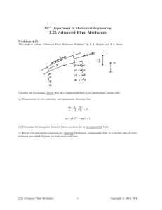 2.25  Advanced  Fluid  Mechanics Problem  4.05