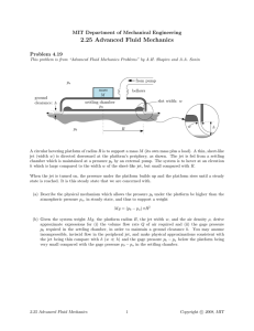 2.25  Advanced  Fluid  Mechanics Problem  4.19