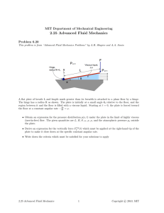 2.25  Advanced  Fluid  Mechanics Problem  6.20