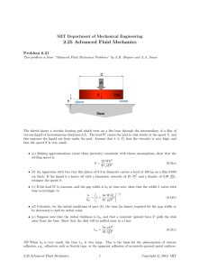 2.25  Advanced  Fluid  Mechanics Problem  6.21