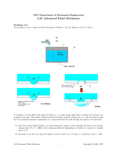 2.25  Advanced  Fluid  Mechanics Problem  2.5