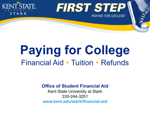 Paying for College  Financial Aid Tuition