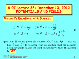 8.07 Lecture 36: December