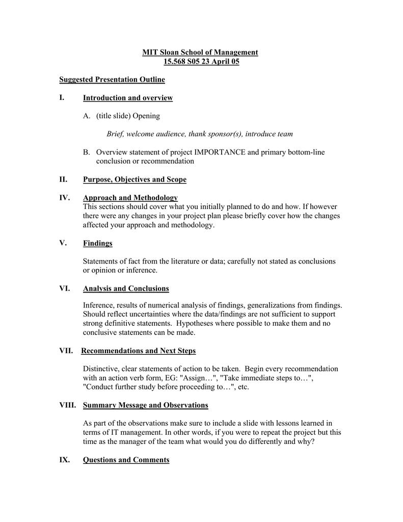 MIT Sloan School of Management 15 568 S05 23 April 05
