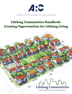 Lifelong Communities Handbook: Creating Opportunities for Lifelong Living