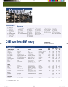 2010 worldwide EOR survey G UIDE TO EOR TABLES