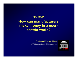 15.352 How can manufacturers make money in a user -