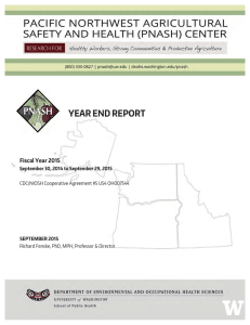 YEAR END REPORT  Fiscal Year 2015 !